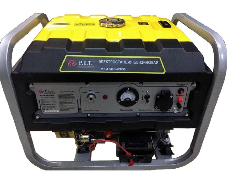 """54508 - PRO  - """"P.I.T."""" Генератор 4,5 kW 220v"""
