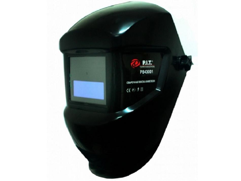 """Р843001 - """"P.I.T."""" Сварочная маска - Хамелеон"""