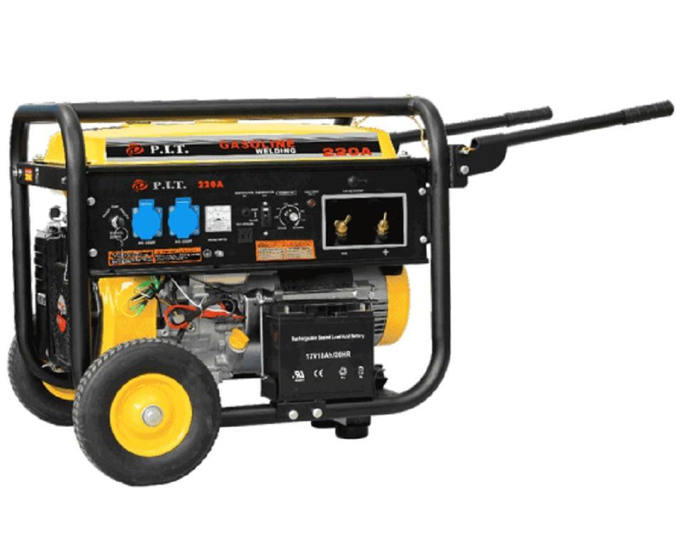 """55005А - """"P.I.T."""" Бензиновый генератор САГ 7,0 kW. + cварка 300 А"""