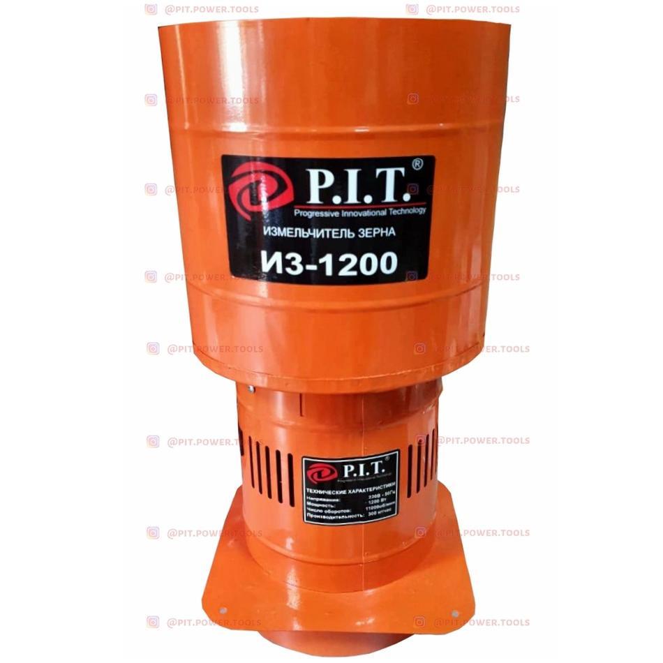 """ИЗ-1200 - """"P.I.T."""" Измельчитель зерна 1200 w"""