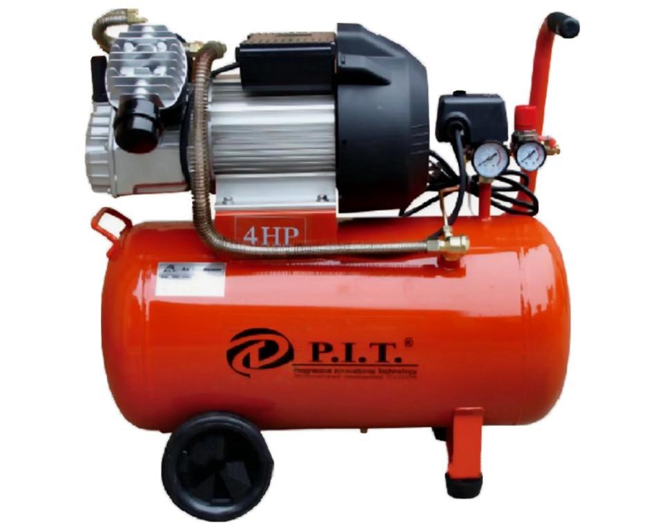 "55025 - ""P.I.T."" Компрессор 2-x цилиндр. 50 L 2,5 kW"