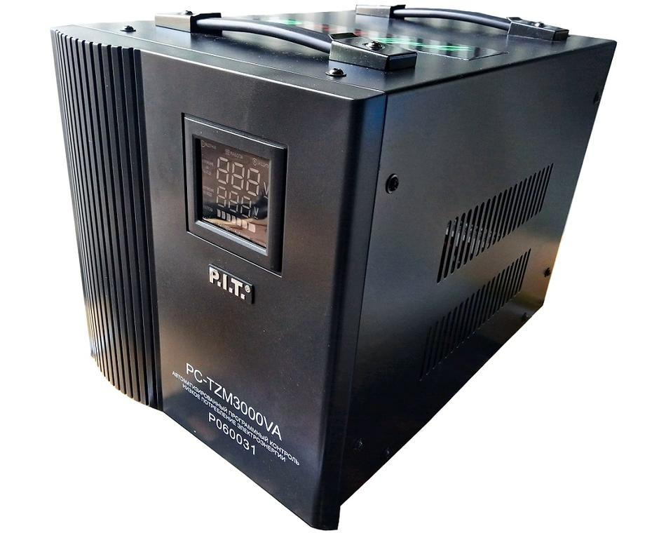 "060031 - ""P.I.T.""   Стабилизатор 3 kW напольный"