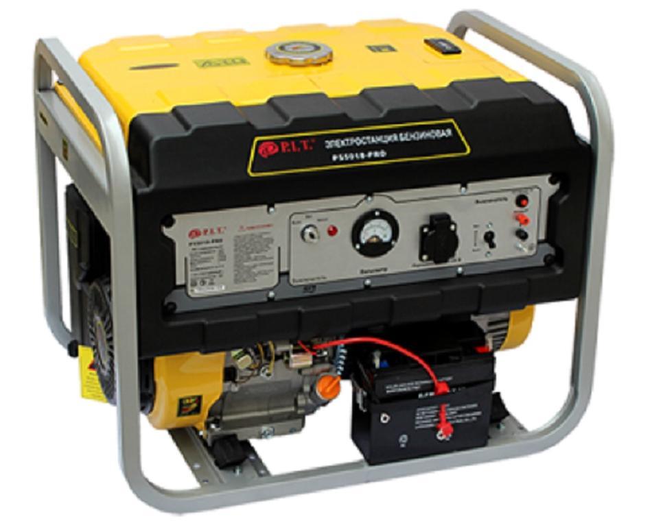 """55018 - PRO  - """"P.I.T."""" Бензиновый генератор 5,5 kW 220v"""